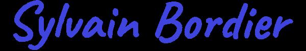 Sylvain Bordier - Développeur Web Freelance